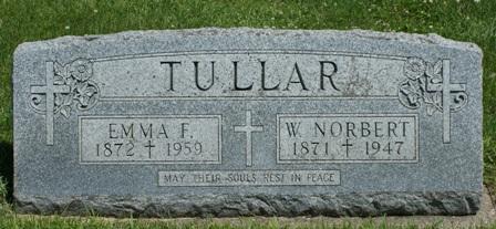 TULLAR, EMMA F. - Buena Vista County, Iowa | EMMA F. TULLAR