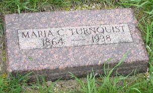 TURNQUIST, MARIA C. - Buena Vista County, Iowa   MARIA C. TURNQUIST