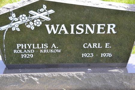 WAISNER, CARL  E. - Buena Vista County, Iowa | CARL  E. WAISNER