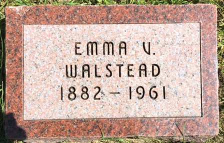 ANDERSON WALSTEAD, EMMA V. - Buena Vista County, Iowa | EMMA V. ANDERSON WALSTEAD