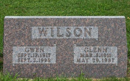 WILSON, GWEN - Buena Vista County, Iowa   GWEN WILSON