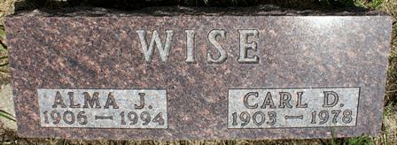 WISE, ALMA J. - Buena Vista County, Iowa | ALMA J. WISE