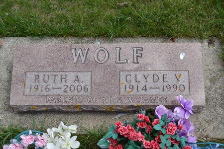 WOLF, CLYDE  V. - Buena Vista County, Iowa | CLYDE  V. WOLF