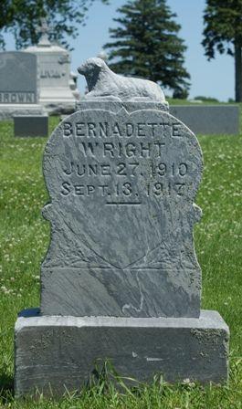 WRIGHT, BERNADETTE - Buena Vista County, Iowa | BERNADETTE WRIGHT