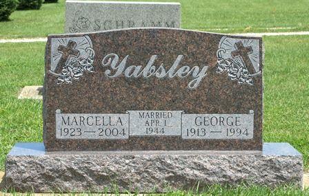 YABSLEY, GEORGE - Buena Vista County, Iowa | GEORGE YABSLEY