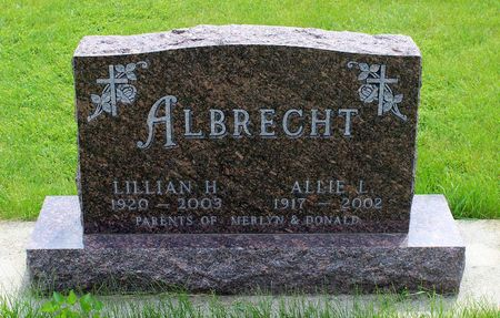 ALBRECHT, ALLIE L. - Butler County, Iowa | ALLIE L. ALBRECHT