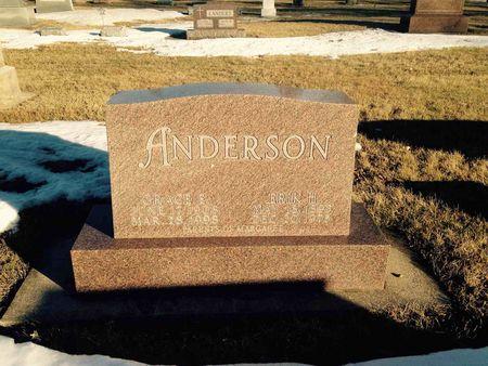 H ANDERSON, ERIK - Butler County, Iowa | ERIK H ANDERSON