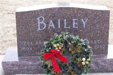 BROWN BAILEY, NEVA - Butler County, Iowa | NEVA BROWN BAILEY