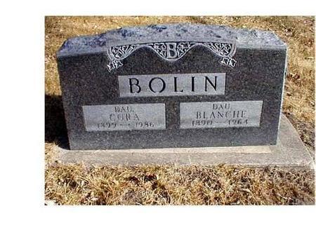 BOLIN, CORA A., BLANCHE - Butler County, Iowa | CORA A., BLANCHE BOLIN