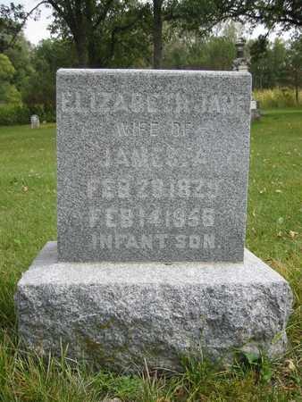 BONWELL, ELIZABETH JANE - Butler County, Iowa   ELIZABETH JANE BONWELL