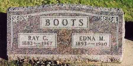 BOOTS, RAY CLINTON - Butler County, Iowa | RAY CLINTON BOOTS