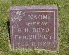 BOYD, NAOMI - Butler County, Iowa | NAOMI BOYD