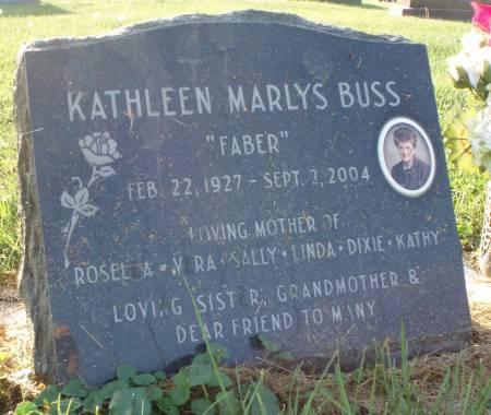BUSS, KATHLEEN MARLYS - Butler County, Iowa | KATHLEEN MARLYS BUSS