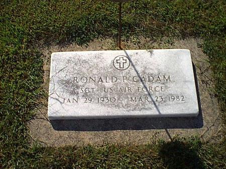 CADAM, RONALD - Butler County, Iowa | RONALD CADAM