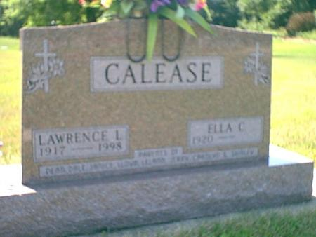 CALEASE, LAWRENCE - Butler County, Iowa | LAWRENCE CALEASE