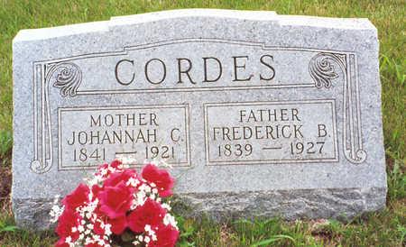 CORDES, FREDERICK B. - Butler County, Iowa | FREDERICK B. CORDES