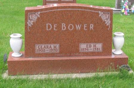 DEBOWER, ED H. - Butler County, Iowa | ED H. DEBOWER