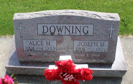 DOWNING, ALICE M. - Butler County, Iowa | ALICE M. DOWNING