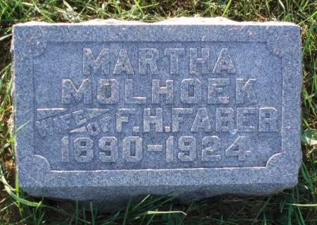 FABER, MARTHA - Butler County, Iowa | MARTHA FABER