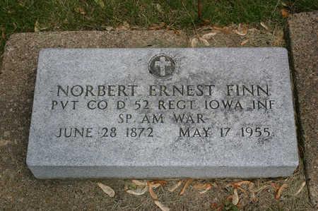FINN, NORBERT ERNEST - Butler County, Iowa   NORBERT ERNEST FINN