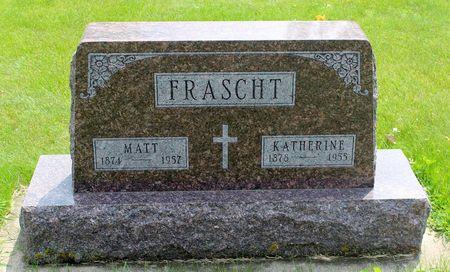 FRASCHT, KATHERINE - Butler County, Iowa | KATHERINE FRASCHT