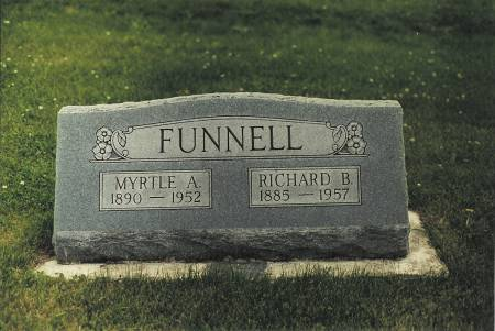 FUNNELL, MYRTLE A - Butler County, Iowa | MYRTLE A FUNNELL