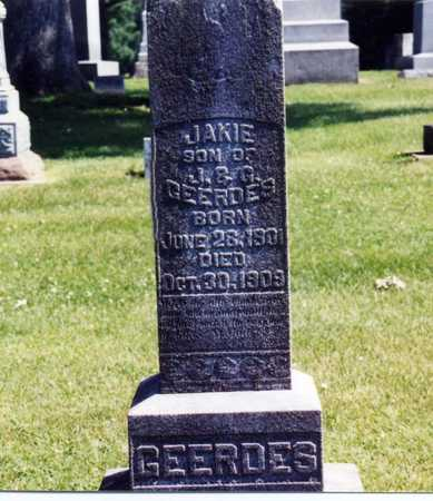 GEERDES, JAKIE - Butler County, Iowa | JAKIE GEERDES