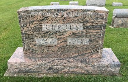 GERDES, PAUL - Butler County, Iowa | PAUL GERDES