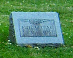 GETTING, FRITZ - Butler County, Iowa | FRITZ GETTING