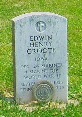 GROOTE, EDWIN - Butler County, Iowa | EDWIN GROOTE