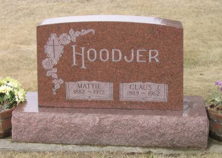 HOODJER, CLAUS J. - Butler County, Iowa | CLAUS J. HOODJER
