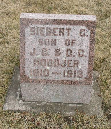 HOODJER, SIEBERT - Butler County, Iowa | SIEBERT HOODJER