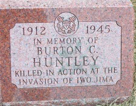 HUNTLEY, BURTON - Butler County, Iowa | BURTON HUNTLEY