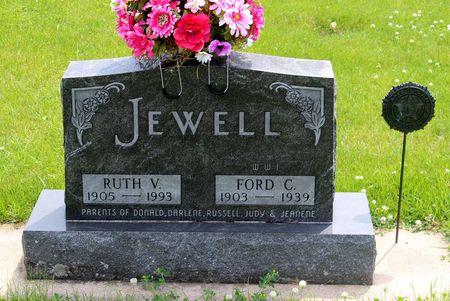 JEWELL, RUTH V. - Butler County, Iowa | RUTH V. JEWELL