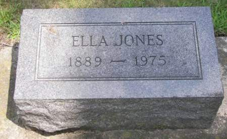 JONES, ELLA - Butler County, Iowa | ELLA JONES