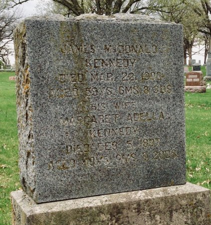 KENNEDY, JAMES MCDONALD - Butler County, Iowa | JAMES MCDONALD KENNEDY