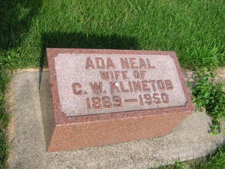 KLINETOB, ADA - Butler County, Iowa | ADA KLINETOB