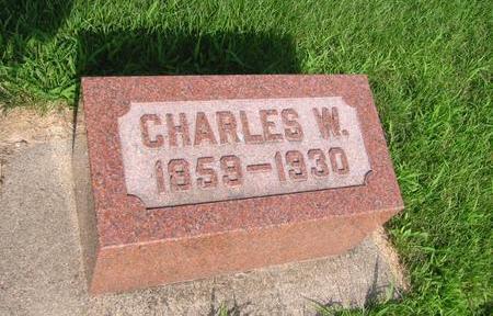 KLINETOB, CHARLES W. - Butler County, Iowa | CHARLES W. KLINETOB