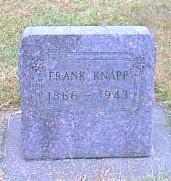 KNAPP, FRANK - Butler County, Iowa | FRANK KNAPP