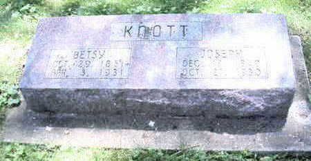 KNOTT, BETSEY - Butler County, Iowa | BETSEY KNOTT