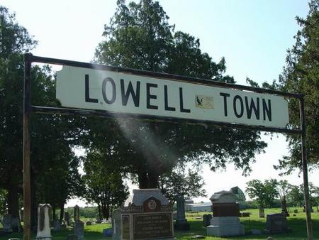 LOWELL TOWN, CEMETERY - Butler County, Iowa | CEMETERY LOWELL TOWN