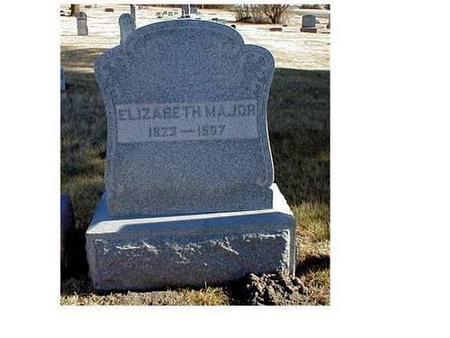 MAJOR, ELIZABETH, WILLIAM - Butler County, Iowa | ELIZABETH, WILLIAM MAJOR