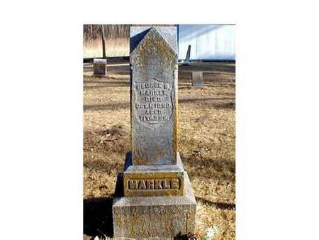 MARKLE, GEORGE S. - Butler County, Iowa | GEORGE S. MARKLE