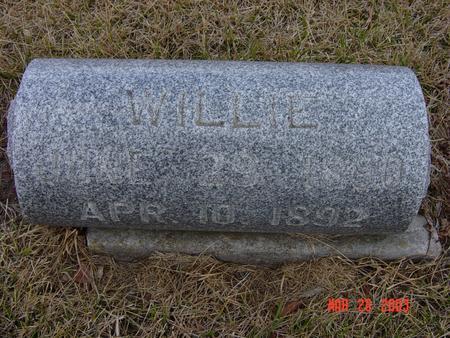 MCMAHON, WILLIE - Butler County, Iowa | WILLIE MCMAHON