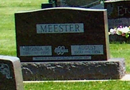 MEESTER, AUGUST - Butler County, Iowa | AUGUST MEESTER