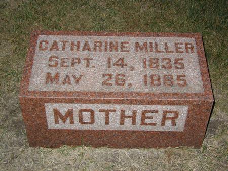 LEWIS MILLER, CATHARINE - Butler County, Iowa | CATHARINE LEWIS MILLER