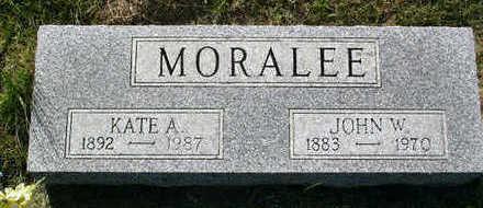 MORALEE, JOHN W. - Butler County, Iowa | JOHN W. MORALEE
