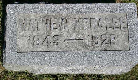 MORALEE, MATTHEW - Butler County, Iowa   MATTHEW MORALEE