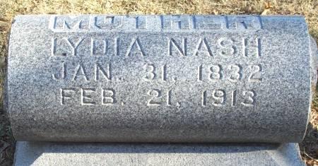 NASH, LYDIA - Butler County, Iowa | LYDIA NASH