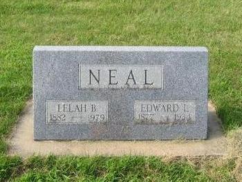 NEAL, EDWARD L. - Butler County, Iowa | EDWARD L. NEAL